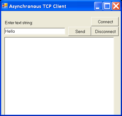 Async Tcp Client