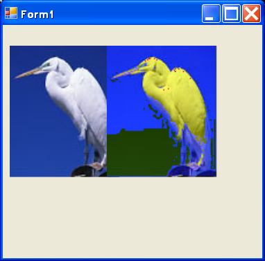 create a new bitmap with