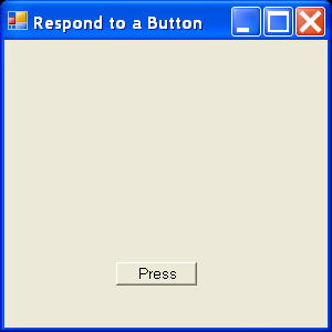 Handle button messages