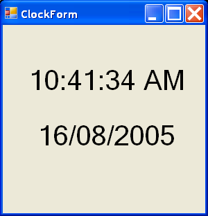 Use system. Threading. Timer to make a countdown timer in c# c#.