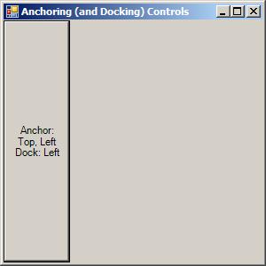 Dock Style: Left