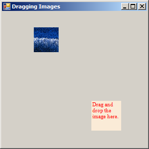 Drag and drop the PictureBox
