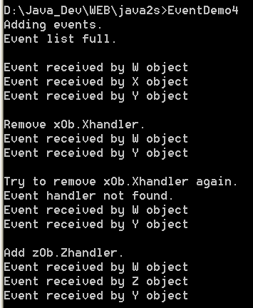 Create a custom means of managing the event invocation list
