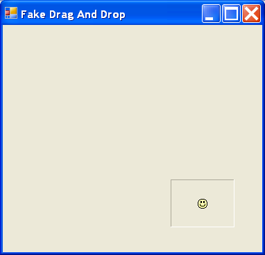 Drag and Drop is supported for