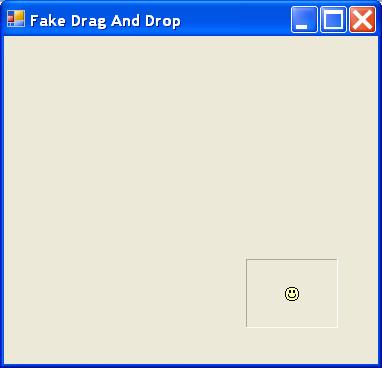 Fake Drag And Drop