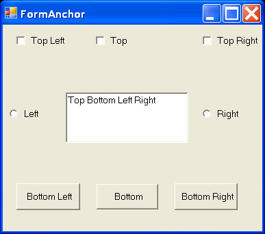 Form Anchor