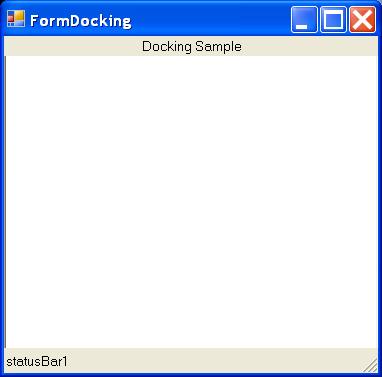 Control Docking