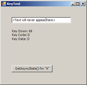 Get Async Key State