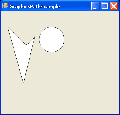 Graphics Path Example