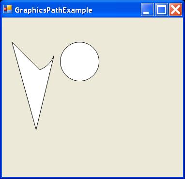 Graphics Path Example