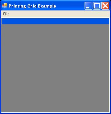 Grid Printing