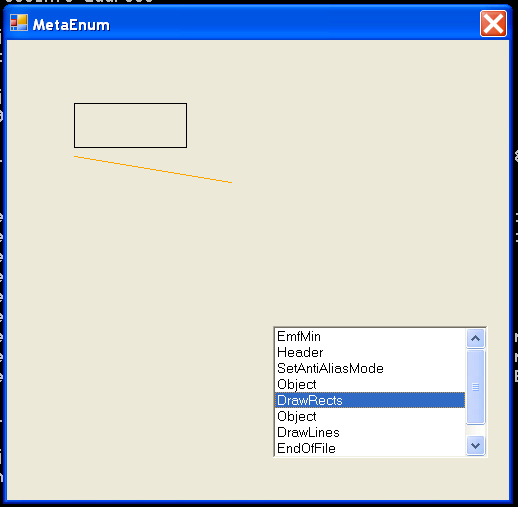 ListBox and Metafile Enum