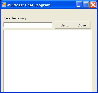Multicast Chat