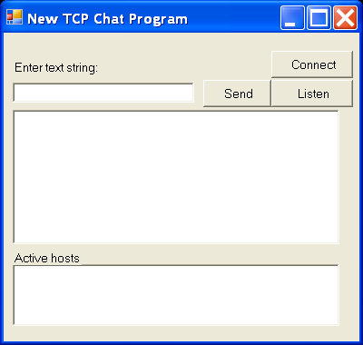 New Tcp Chat
