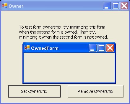 Form Ownership