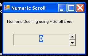 ScrollBars Demo 