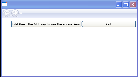 AccessText element adds access keys to controls.(how to specify the access key)