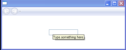 Add ToolTip text to a TextBox