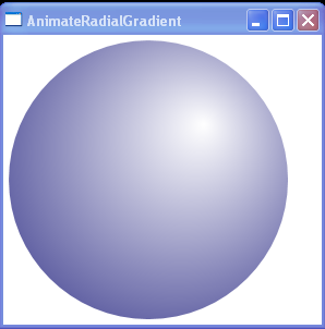 Animate RadialGradient