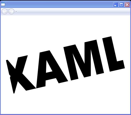 Animated Text Transform