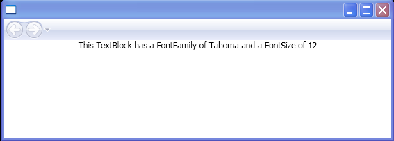 Binding FontFamily / FontSize value for current Control