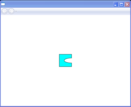 Combined geometries GeometryCombineMode=Exclude