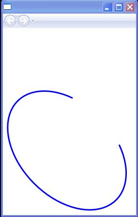 Counterclockwise (default), IsLargeArc