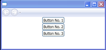 Create FishEye Effect Buttons by changing the Button font size