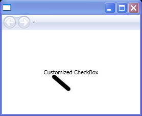 Customized CheckBox