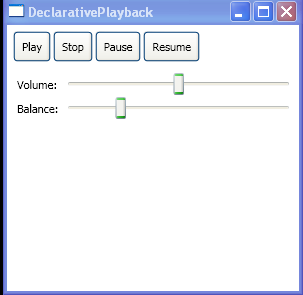 Declarative Playback