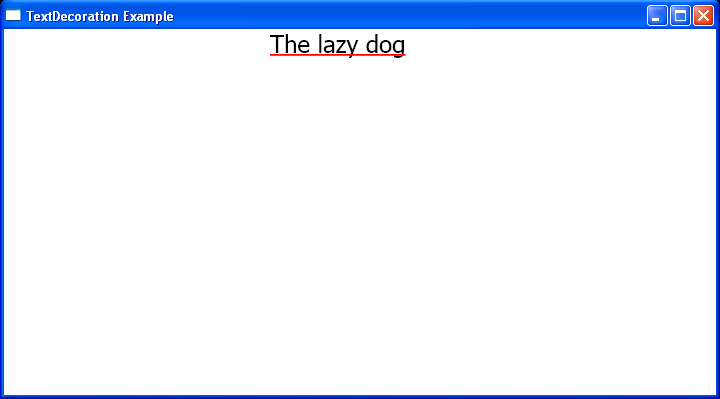 Fill the underline decoration with a solid color brush in C#