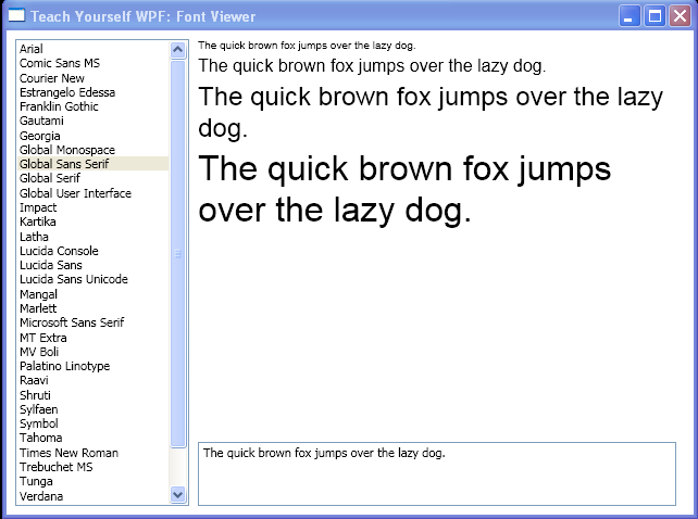 Font Viewer