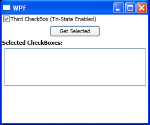 Handles CheckBox Indeterminate events when a CheckBox changes to a indeterminate state.