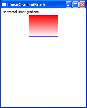 Horizontal linear gradient