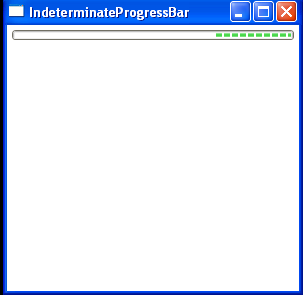 Indeterminate ProgressBar
