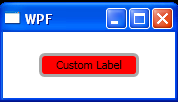 Label with ControlTemplate
