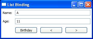 List Binding