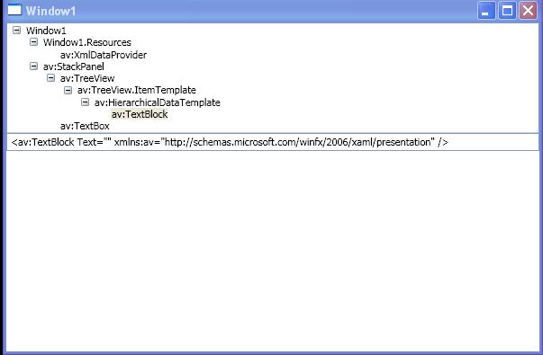 Load XmlDocument to XmlDataProvider