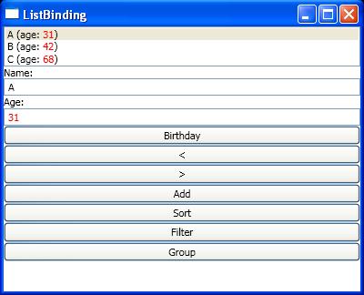 Object Binding