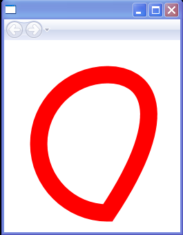 Path gradient and Bezier