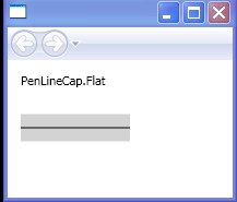 PenLineCap.Flat