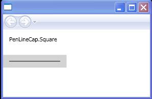 PenLineCap.Square