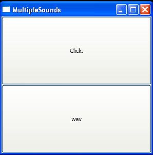 Play wav file