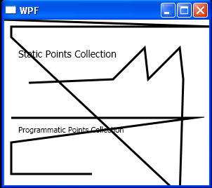 Populate the PointsCollection of the PolyLine