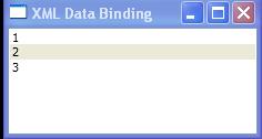 Retrieve data from XmlDataProvider with XPath