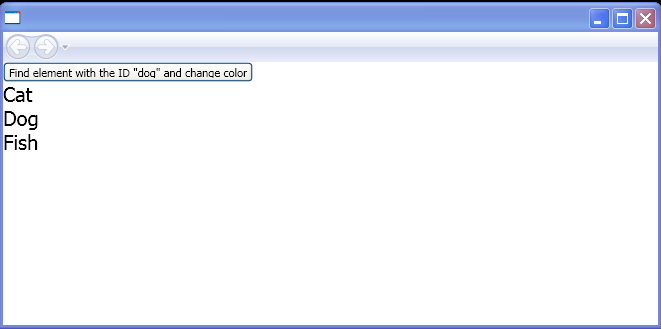 Search for an element by using Panel.FindName()
