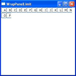 Set item width for WrapPanel