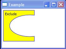 Shape Exclude