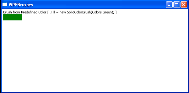 Solid Color Brush In Code with SolidColorBrush
