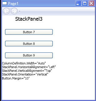 StackPanel.Orientation=Vertical